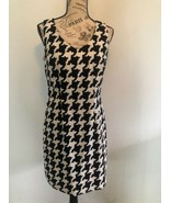 ALYX Dress Womens Size 4 Geometric Pattern Black And White Sleeveless - $0.98