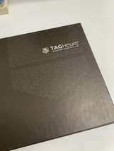 Tag Heuer Catalogue And Price List Hardcover 2009-2010 - $11.02