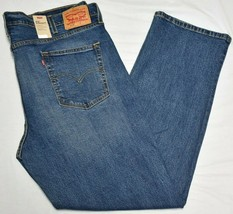 Levi's Jeans Men's 514 Straight Fit 5-Pocket Stretch Denim Rooster Wash ... - $18.97