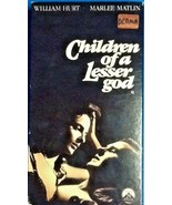 CHILDREN OF A LESSER GOD (vhs) William Hurt, Marlee Matlin - $4.94