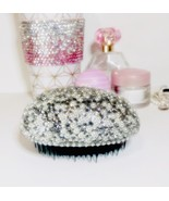 Shimmer and sparkle tangle taming hair brush. Embellished in crystals an... - $19.42