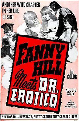 Primary image for Fanny Hill Meets Dr. Erotico - 1969 - Movie Poster
