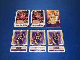 Lot of (6) KOBE BRYANT 2016-2020 Card Lot Panini Donruss & Contenders La... - $12.34