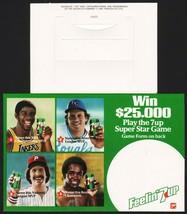 Vintage bottle ringer 7 UP 1981 Magic Johnson Brett Tug McGraw Sugar Ray... - $8.99