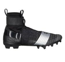 Under Armour C1N MC Football Cleats Black/Silver Newton 3000175-001 Mens 11 - $54.95