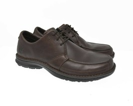 Timberland Smart Comfort System Sz 11.5M Brown Leather Moc Toe Shoes - £38.68 GBP