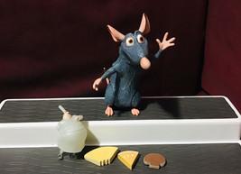 "Disney Pixar Disneystore Ratatouille Remy 6"" Talking Figure + Accessories HTF - $54.45"