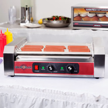 Grand Slam 24 Hot Dog Roller Grill with 9 Rollers 110V, 1350W  - $139.99
