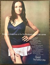 1969 Sears Roebuck Big Boutique Womens Clothing Print Ad Soak It To Me Time - $10.34