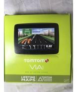 TOMTOM 1400M Via Lifetime Maps  1400 M  w/ Box and More! GPS Unit - $26.60
