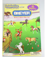 Breyer Horse Rider Magnets board booklet Play Set - $22.28