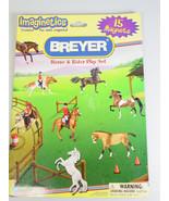 Breyer Horse Rider Magnets board booklet Play Set - $22.28