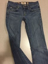 Juicy Couture Jeans Girls Size 24 Distressed Boot Cut image 3