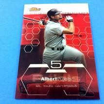 Albert Pujols 2003 Topps Finest Card #95 MLB St. Louis Cardinals Angels - $7.87