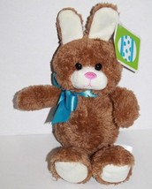 "Animal Adventure Tan Brown EASTER BUNNY RABBIT 8"" COTTONTAIL Plush 2018 ... - $19.23"