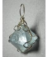 .925 SS Wire Wrapped Fluorite Crystal Pendant by Jemel - $48.00