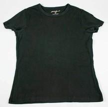 EDDIE BAUER BASIC BLACK WOMENS SMALL T-SHIRT SHIRT TOP - $8.90