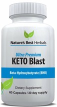 Ultra Premium Keto Blast | Weight Loss Supplement for Fast Fat Burn - Bo... - $35.68