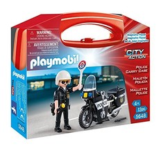 PLAYMOBIL Police Carry Case - $17.75