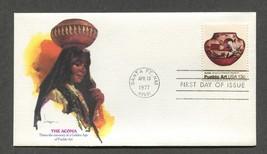 Apr 13 1977 The Acoma Pueblo Art Fleetwood FDC #1709 - $3.99