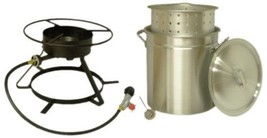 King Kooker Portable Propane Outdoor Boiling and Steaming Cooker Camping... - $122.85