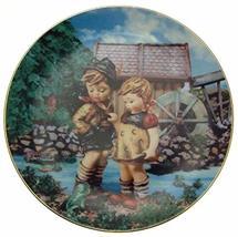 c1990 Danbury Mint Hummel Little Companions Hello Down There plate NEGR67 - $38.21