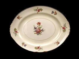 """Priscilla Pattern 13"""" Serving Platter, Household Institute Eggshell Naut... - $19.55"""