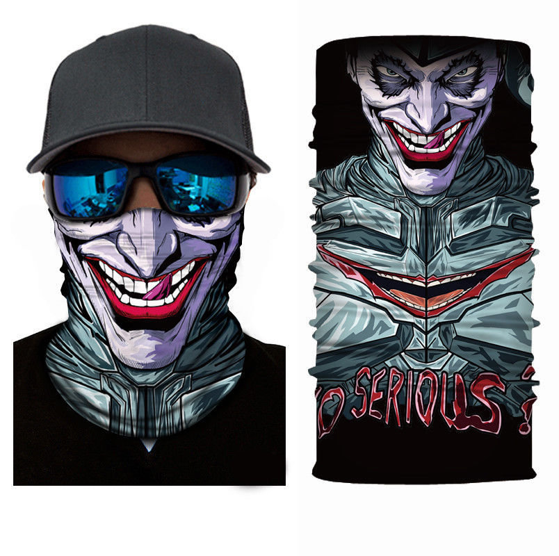Primary image for Crazy JOKER 25 Winter Face Mask Bandanas Headband Multi Headwear Scarf
