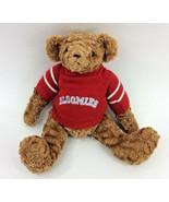 "Bloomies Teddy Bear Red Sweater Jointed Plush Stuffed Animal 14"" - $19.24"