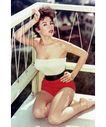 Rita Moreno Busty Color Early Glamour Pose 18x24 Poster - $23.99