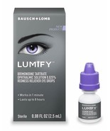 Lumify Redness Reliever Eye Drops   0.08 FL OZ   (2.5 ml)   EXP 01/21 an... - $12.86