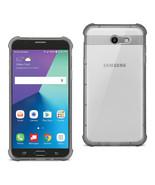 Reiko Samsung Galaxy J7 V (2017) Clear Bumper Case With Air Cushion Prot... - $9.40