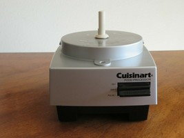 CUISINART DLC-5BC Food Processor MOTOR BASE ONLY Replacement Part SILVER... - $14.99