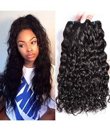 GEM Beauty Brazilian Water Wave Virgin Hair 3 Bundles Deal Wet and Wavy ... - $89.58