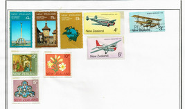 119 New Zealand 1972-1982 stamps - $9.89