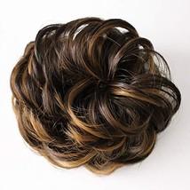 Timonna Hair Bun Pieces for Women Messy Wavy Curly Donut Chignons Hair Piece Bun