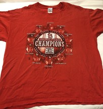 ST. LOUIS CARDINALS 2006 WORLD SERIES CHAMPIONS T-SHIRT XL With Starting... - €8,74 EUR