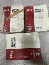 1998 Chevrolet Chevy CORVETTE Service Shop Repair Manual Set FACTORY Worn  - $39.55
