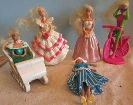 vintage Mattel Lot of 5 HAPPY MEALS  Barbie Dolls  -  naked 2 - $19.80