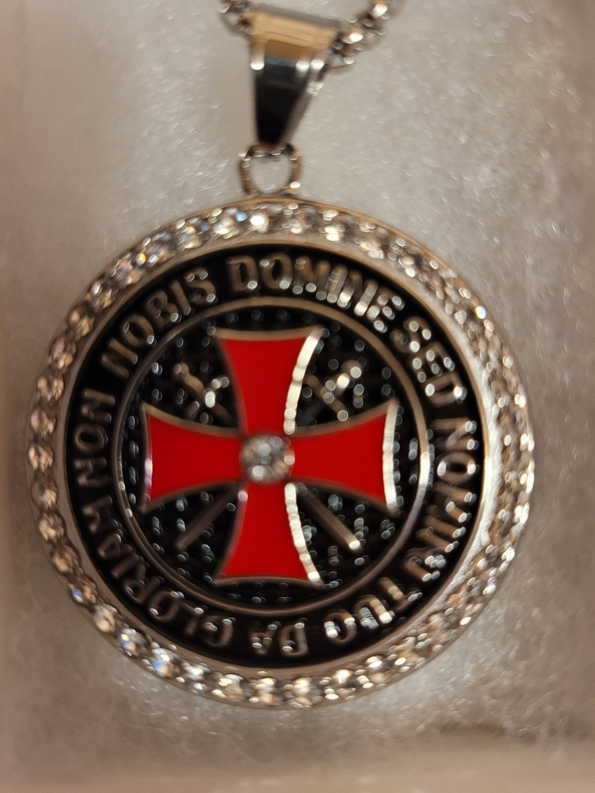 Knights Templar Christian Necklace Medallion