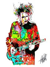 "Robert Smith, The Cure, Vocals, Guitar, Post-Punk, Gothic, 18""x24"" Art P... - $19.99"