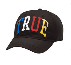 Men's True Religion Embroidered Rainbow 3D Cap Baseball Sport Strapback Hat image 4