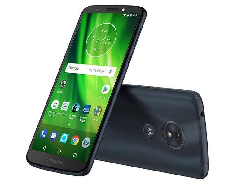 New Motorola Moto G6 Play | 4G LTE (GSM UNLOCKED) 16GB Smartphone XT1922-9