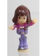 1996 Vintage Polly Pocket Dolls Magical Movin' Pollyville - Alexia Blueb... - $7.50