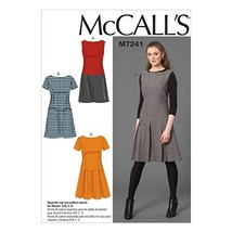 McCall's Patterns M7241 Misses' Dresses, E5 (14-16-18-20-22) - $14.21
