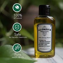 Alonzo's Sensational Premium Natural Shaving Oil for Men | Works as Moisturizing image 3
