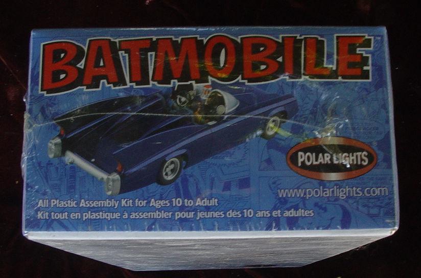 BATMOBILE Polar Lights reissue of 1960's Aurora plastics model