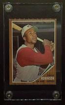 1962 FRANK ROBINSON Original Topps Baseball Card #350 Ungraded in NM Con... - $391.05