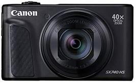 Canon Compact Digital Camera PowerShot SX740 HS black 40x Optical zoom /... - $614.77