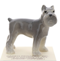 Hagen-Renaker Miniature Ceramic Dog Figurine Schnauzer - $9.49